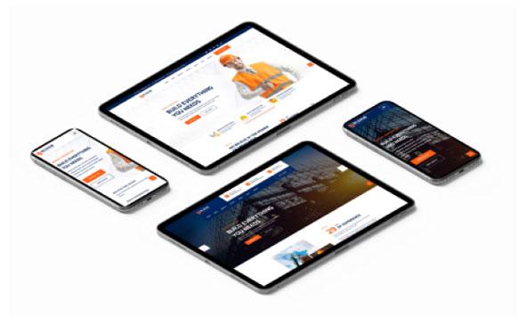 Thiết kế web xây dựng tại Hà Nội